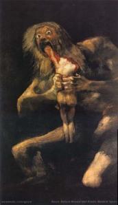 Goya's Saturn