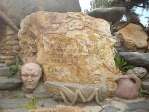 Ecclesiastes Monument in Gilgal Gardens