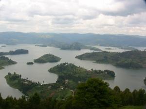 Lake Bunyoni in southern Uganda