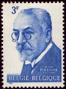 Belgian medievalist Henri Pirenne