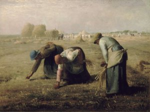 "Jean-Francois Millet's ""The Gleaners"" (1857)"