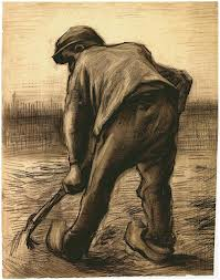 "Vincent Van Gogh's ""Digger in a Potato Field"""