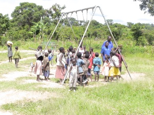 Swing Set Constructed in Southern Uganda