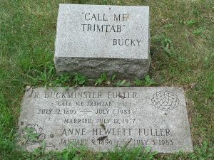 Buckminster Fuller Headstone