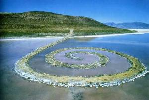 Robert Smithson's Iconic Spiral Jetty
