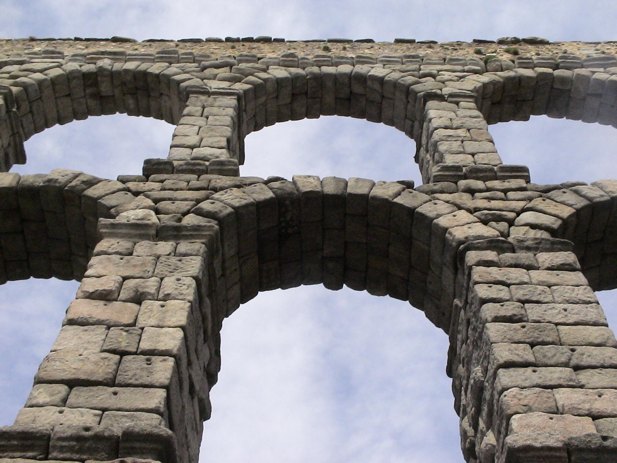 Roman Aqueduct in Segovia, Spain  Tired Road Warrior