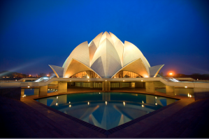 Baha'i Temple in New Delhi, India