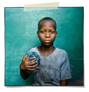 Another African Handmade Soccer Ball (Photograph by Hilltout)