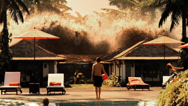 "Tsunami Wave Hits High-end Resort in the Movie ""The Impossible"""