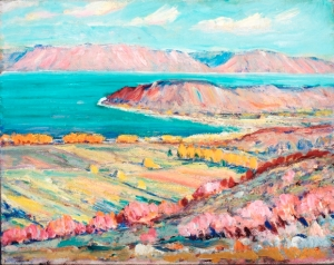 "Henri Moser's ""Bear Lake - Garden City"""