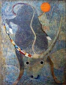 """Avant-garde Artist Yevgeny Lysenko's """"The Bull"""""""