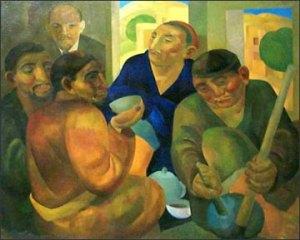 """Avant-garde Artist Alexander Volkov's """"Choykhona"""""""