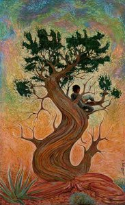 "Shonto Begay's ""Grandfather Tree of Knowledge"""