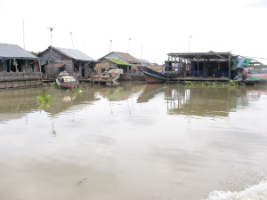 The River Village of Prektol on the Steung Sangke River