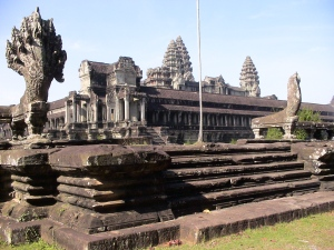 The Main Temple Complex at Angkor Wat