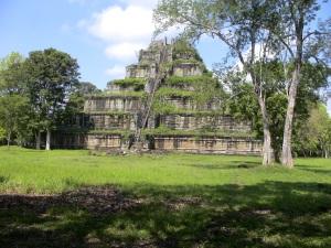 The 7-Tier Pyramid at Koh Ker