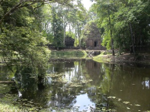 The Baray (Reservoir) at the Main Complex at Koh Ker