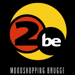 The Logo for the 2be Bar in Bruges, Belgium