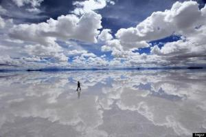 Salt Flats of Bolivia's Southern Altiplano