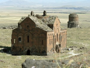 Ruins of Ancient Armenian Churches in Ani (Located in Present-day Turkey)