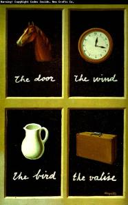 "Magritte's ""The Intrepretation of Dreams"" (1935) Instructs Us in the Arbitrariness of Language"