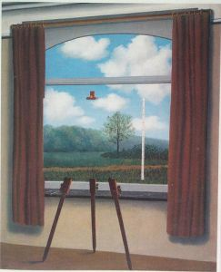 "Does Magritte's ""The Human Condition"" (1933) Anticipate Transhumanist Angst?"