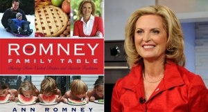 Ann Romney and the Cover to Her Cookbook