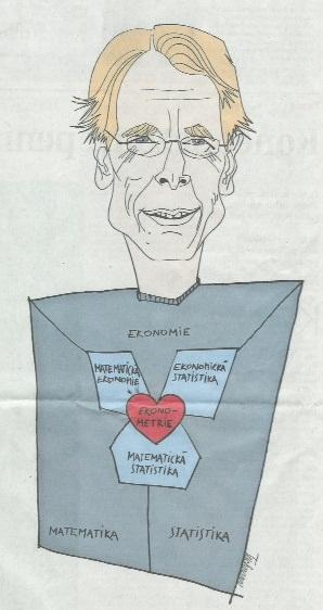 Cartoon of Lars from a Czech Newspaper