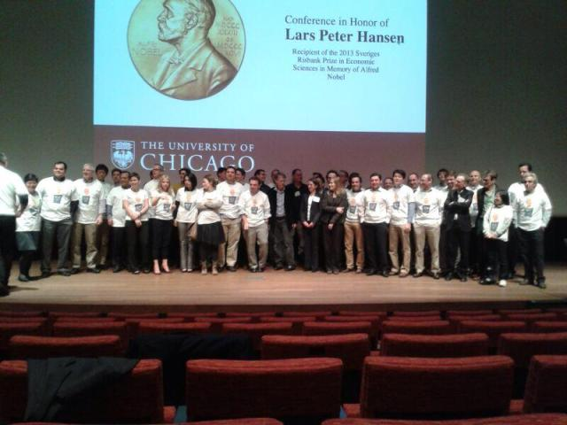 A Large Sampling of Graduate Students that Lars Has Mentored