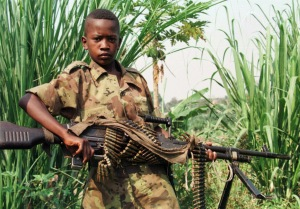 Child Soldier in the Democratic Republic of the Congo
