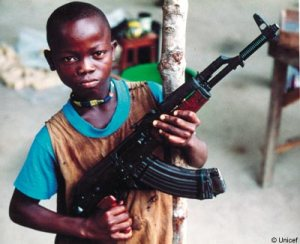 Child Soldier in Africa