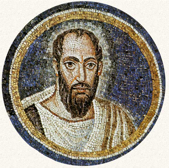 A Ravenna Mosaic of the Apostle Paul, Complete with Male-Pattern Baldness