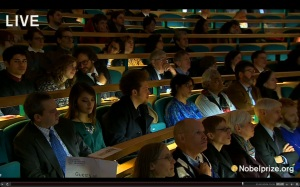 Me (Center) at the 2013 Nobel Economist Lectures