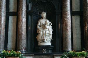 Michelangelo's Madonna and Child (aka the Bruges Madonna)