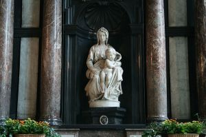 Michelangelo's Madonna and Child (aka the Bruges Madonna)