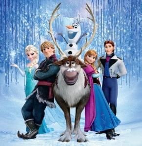 The Cast of Frozen