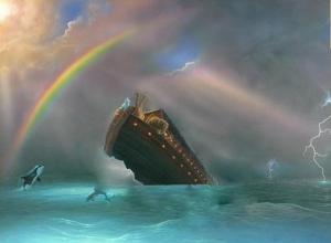 The Legend of Noah's Ark Sinking