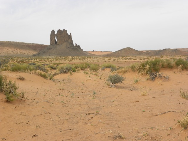Boundary Butte and Arch