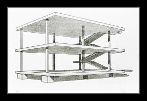 Le Corbusier's Maison Dom-Iso Design