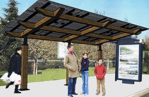 Lumos Solarscape:  Just Add a Gutter and Water Storage Tank