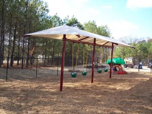 Swing Set Shade Provided by Korkat