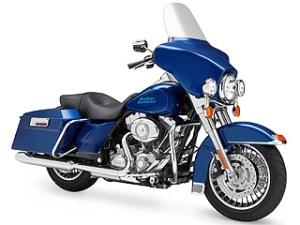 Harley-Davidson's Electro Glide in Blue