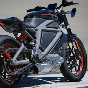 Harley-Davidson's LiveWire Prototype Electric Motorcycle
