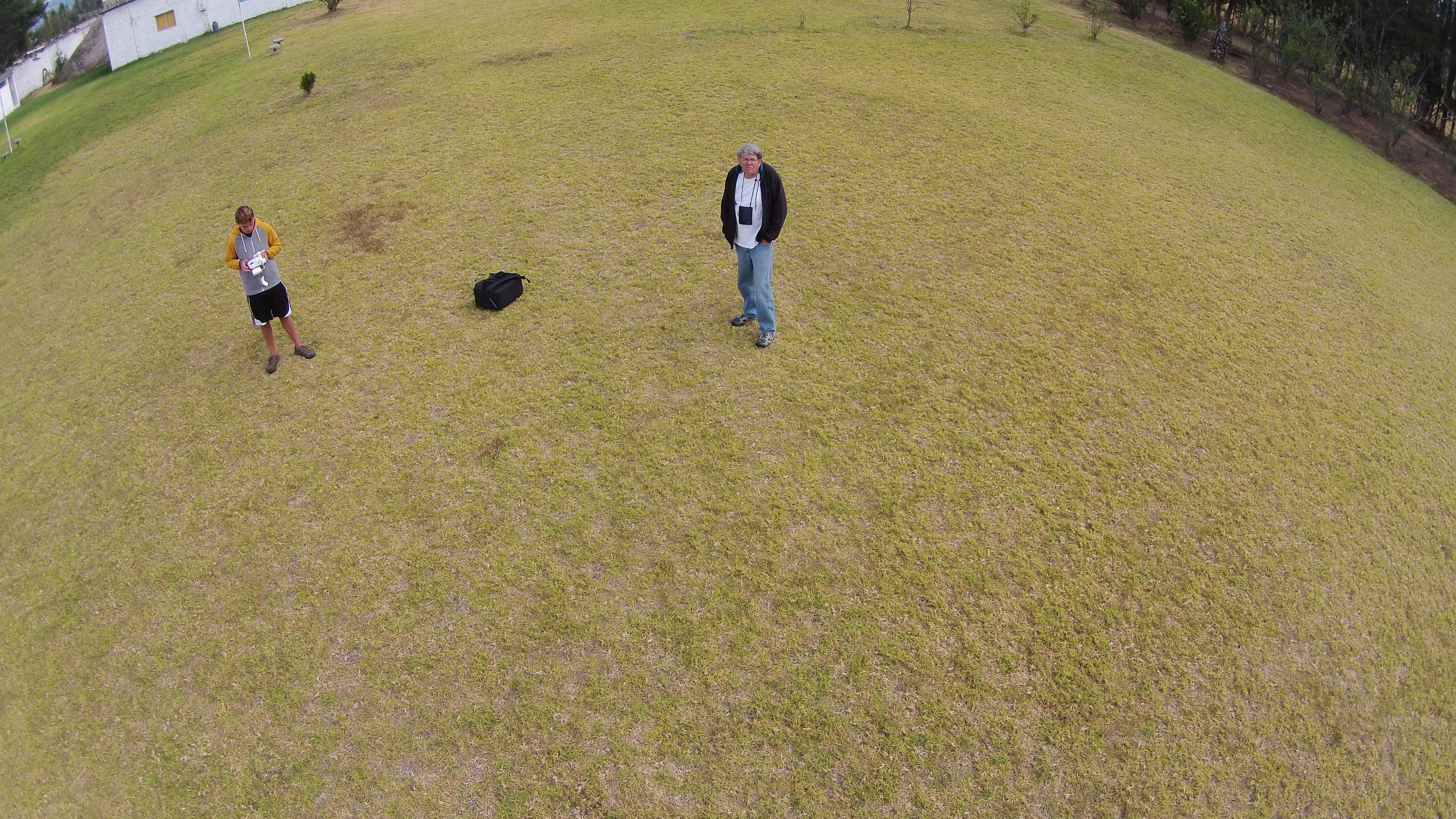 Selfie Taken With Drone My Grandson Is At The Controls