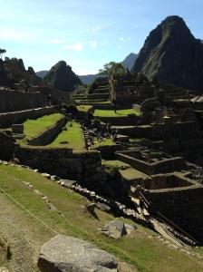 Greenery and Setting of Machu Picchu