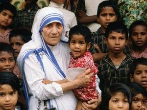 Mother Teresa in India