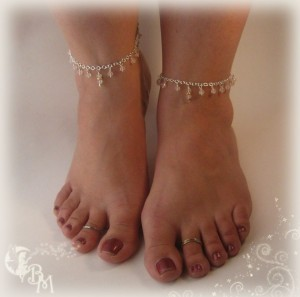 Check Out These Evil Ankles and Toes!