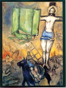 """Marc Chagall's """"Yellow Crucifixion"""""""
