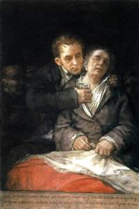 "Goya's ""Self-Portrait with Doctor Arrieta"" (circa 1820)"