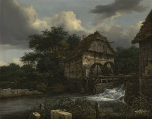 "Ruisdael's ""Two Watermills and an Open Sluice"" (1653)"